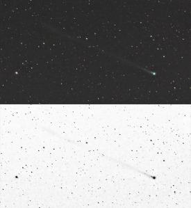 "Ein Bild des ""Neujahrs-Kometen"" 45P/Honda-Mrkos-Pajdusakova. http://news.astronomie.info/sky201701/img/20161229-45p-schiehsl.jpg"