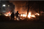 Migrates riots in Rinkeby (Stockholm) Feb. 21. 2017 (Image: aftonbladet.se)