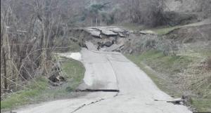 Earth movement in Ponzano di Civitella del Tronto Image: meoteo.eu