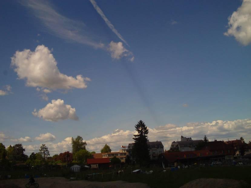 beam of shade Switzerlanad 15. may 2017