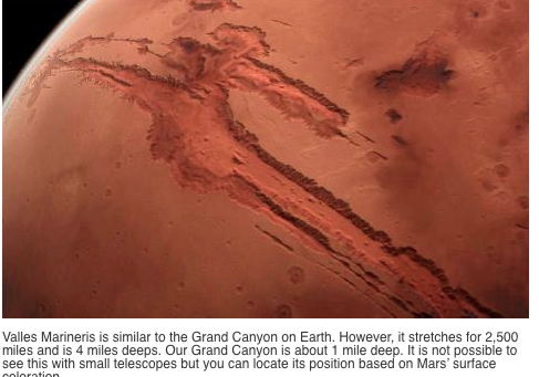 mars scar