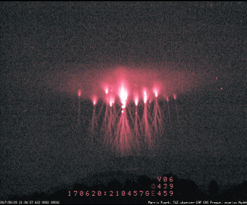 Red Sprites And Sprites Halo