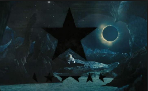 Black Star David Bowie solar eclipse