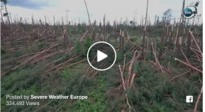 storm damage Poland 2017