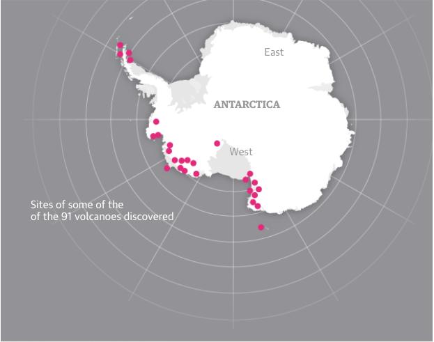 Volcanoes Antarctica