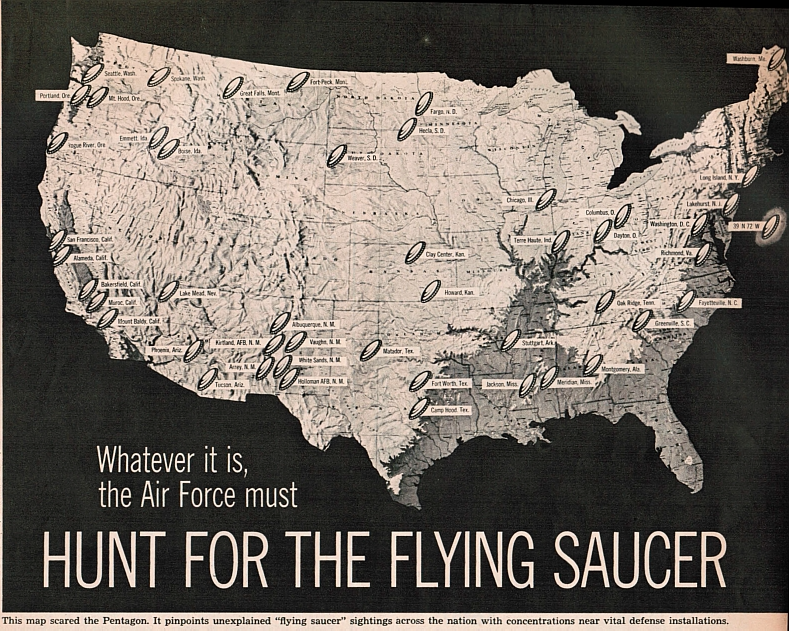 PROJECT 1947: Hunt For The Flying Saucer - Look Magazine July 1, 1952
