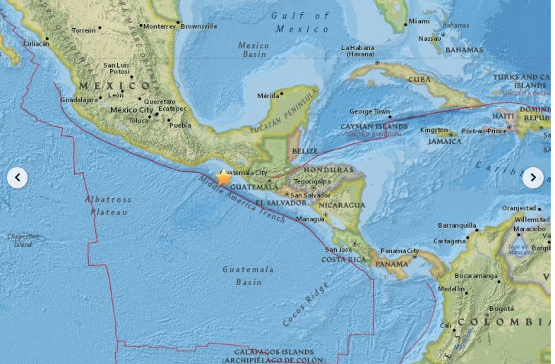 8.1 Earthquake in Pijijiapan, Mexico
