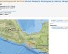 M 5.7 Earthquake Chiapas, Mexico