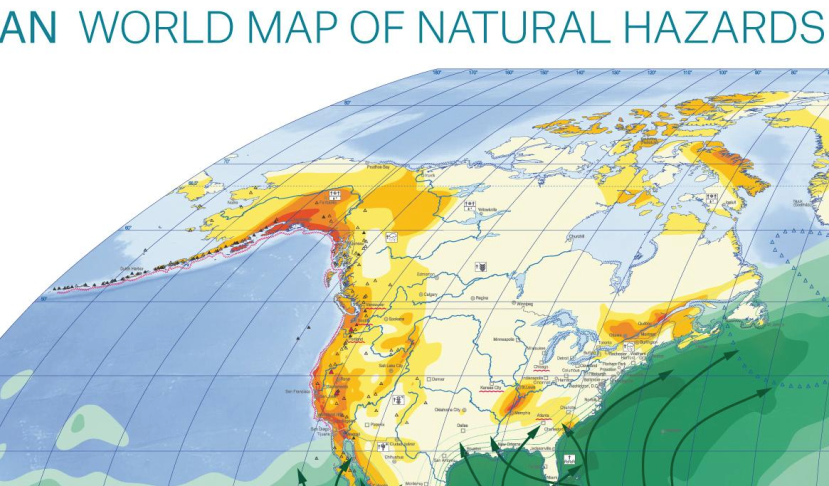 Natural Hazard World Map Abrupt Earth Changes