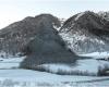 Rock fall Austria Vals