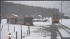Train toppled by storm Burglind Switzerland