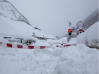 Zermatt cut off by now by snow Road 2018