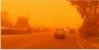 Sahara dust in Crete, Greece