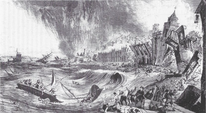 Lisbon Earthquake and Tsunami Nov 1 1755
