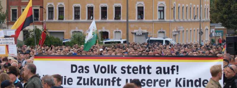 Chemnitz protests 2018