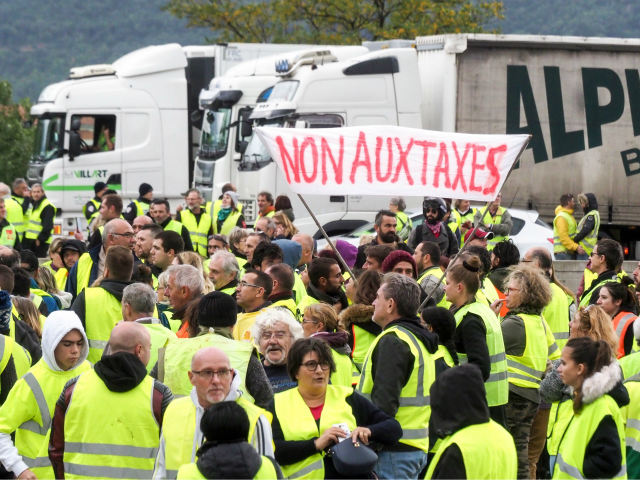 Yellow Vest Protest France - GettyImages