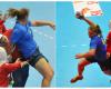 Hannah M. 250 Lbs Trans woman Handball player