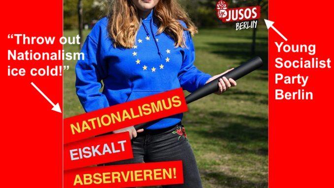 Jusos-Berlin party SPD- baseball bat