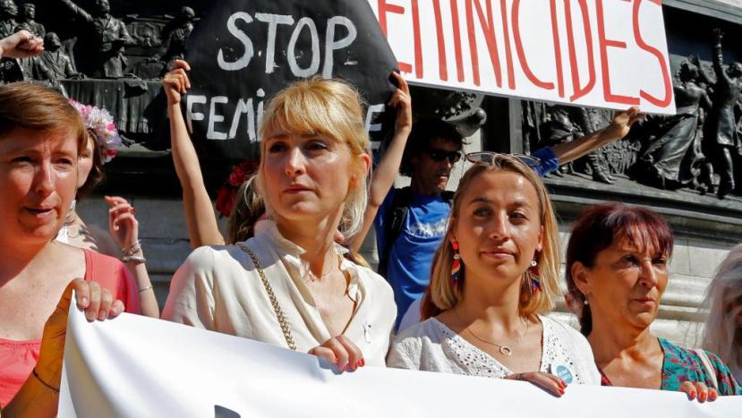 France Protests violence femicide 2019 image: http://en.rfi.fr/france