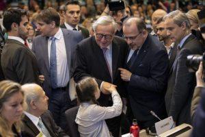 Greta-Thunberg- EU Junker
