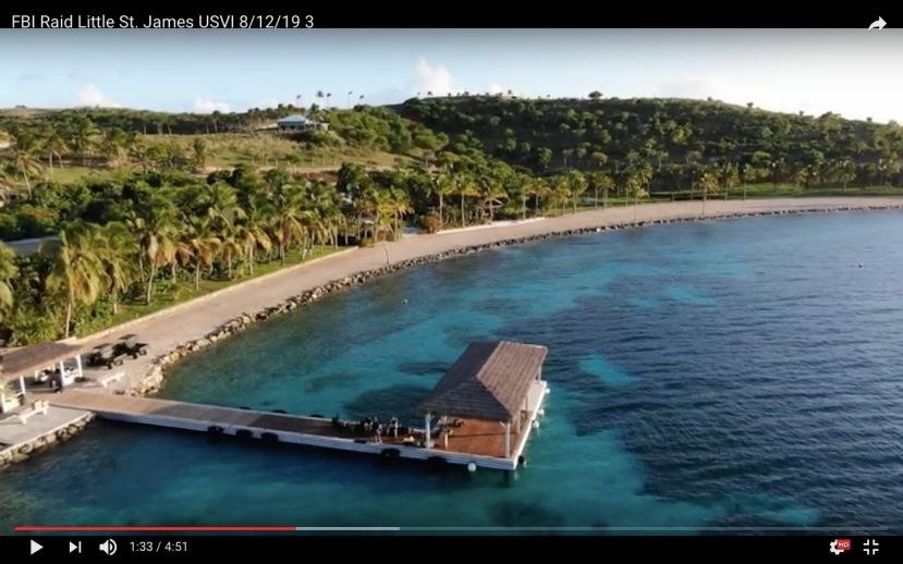 "Jeffrey Epstein ""Pedo-Island"" boat landing"