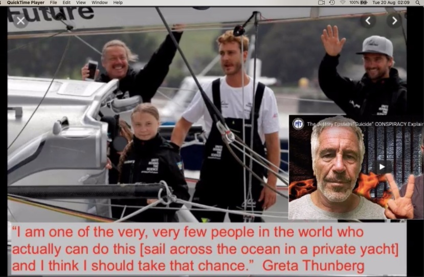 Greta Thunberg yacht Boris Herrmann and Pierre Casiraghi, grandson of Monaco's late Prince Ranier III