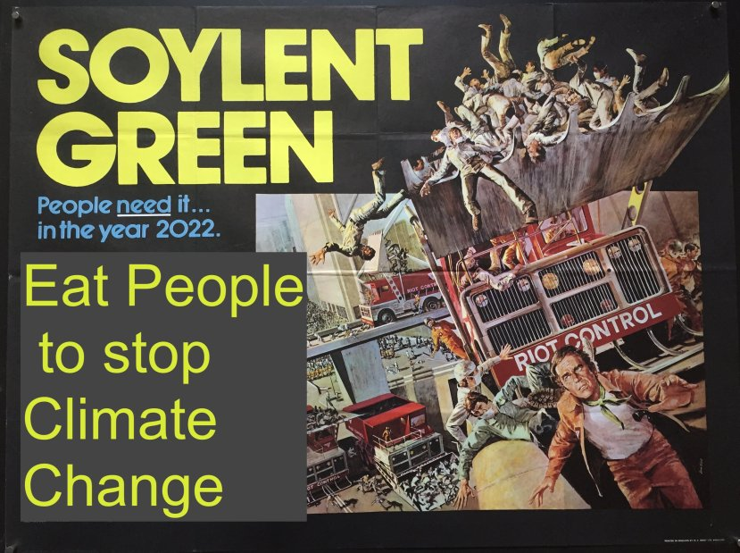 Soylent Green film (1973) Canniblaism