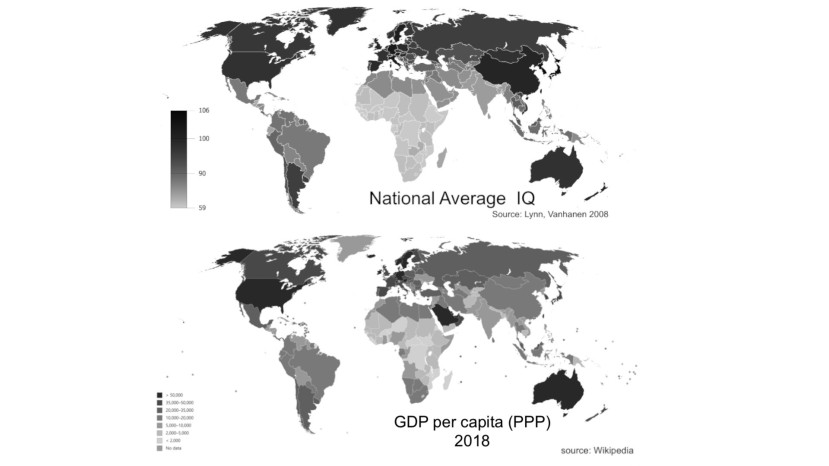 IQ vs GDP per capita (PPP) Image AbruptEarthChanges.com