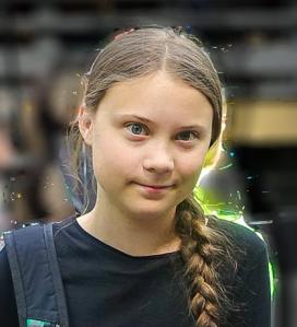 Climate Child abuse victim Greta Thunberg