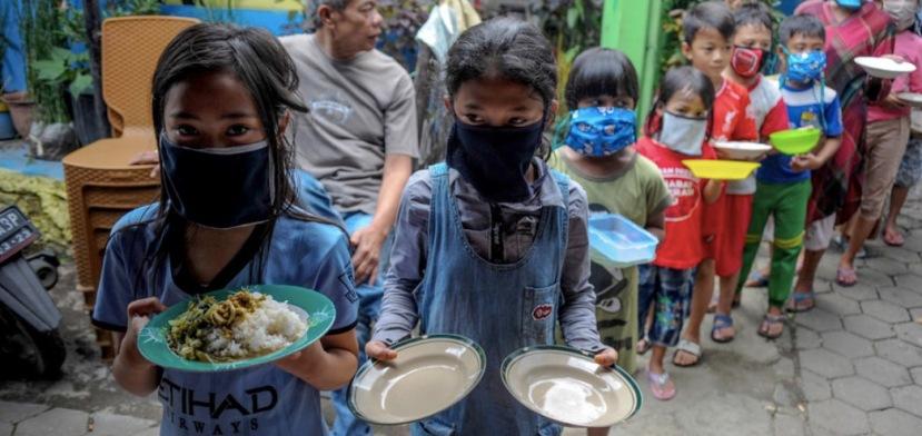 Corona lockdown starvation. Image: reuters
