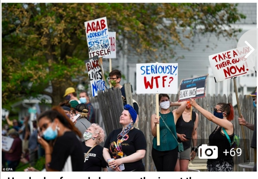 Minneapolis riots floyd
