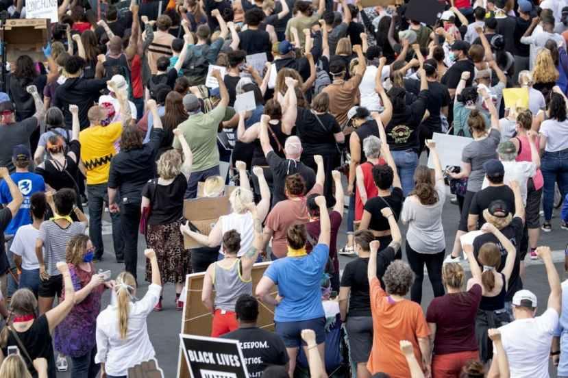 Minneapolis riots.